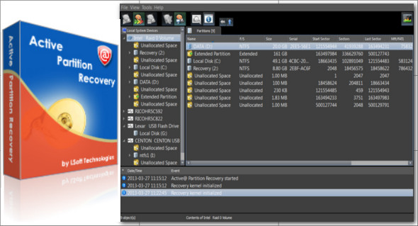 Active Partition Recovery Crack & License Key 2021