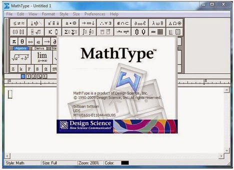 MathType More Key features: